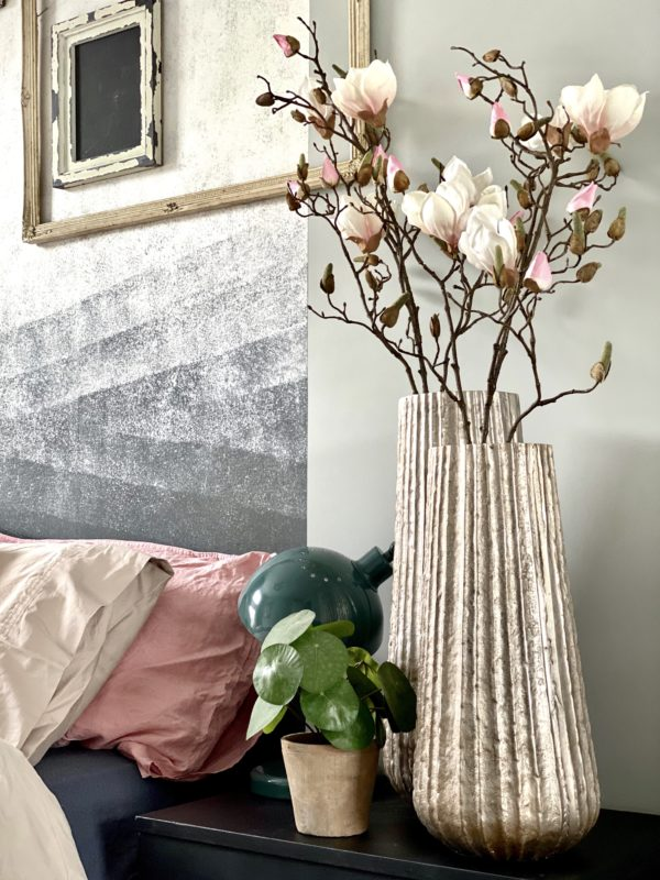 siertakken magnolia licht roze kunst magnolia bloemen kunstbloemen kunst bloemen zijden bloemen
