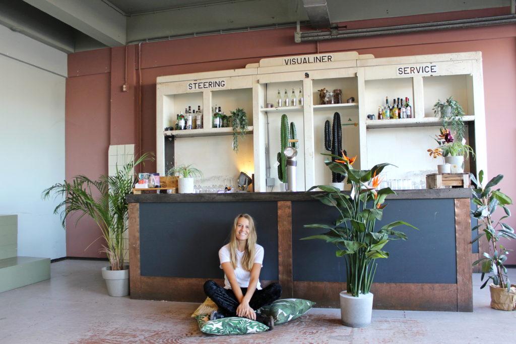 kunst paradijsvogelplant kunst strelitzia neppe strelitziaplant kunstplant mooie kunstplant net echt beton duurzame kunstboom kopen binnen in huis