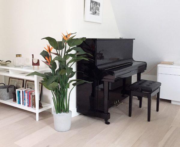 Kunst paradijsvogelplant kunstplant duurzame boom voor binnen plant in huis mooie kunstplant kopen voor binnen