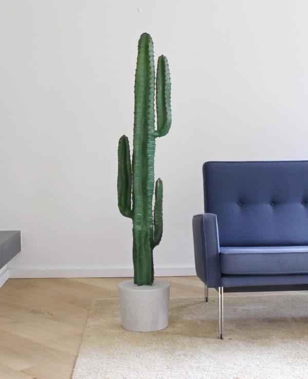 kunst cactus groot nep cactus in huis interieurboom kunstboom kunstplant duurzame binnen boom