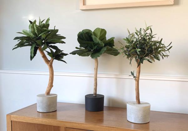 kunst boompjes op stam kopen bomen planten kunstplant