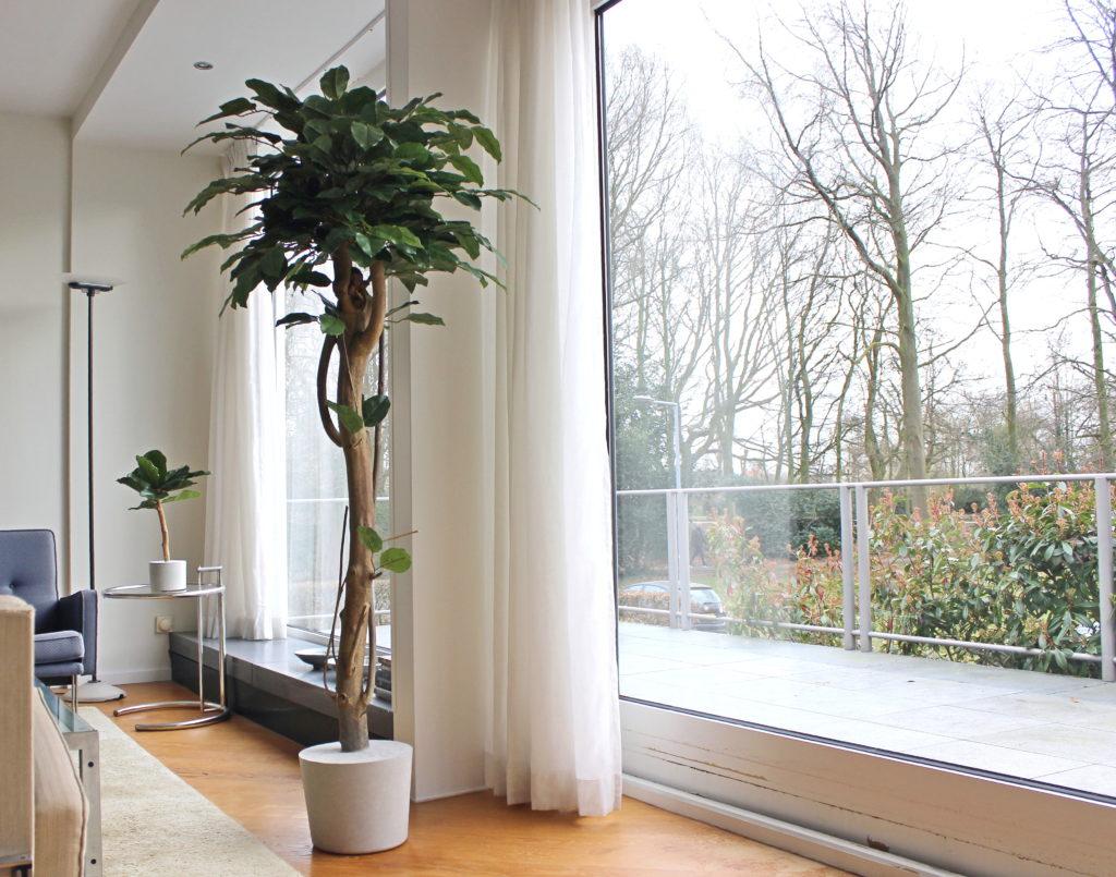 interieur boom boommade lelieboom in huis binnen boom kunstboom duurzame boom in huis nep boom binnen binnenboom