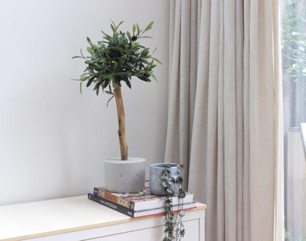 olijfboompje kunstboompje kunstboom kopen interieur boom siertakken