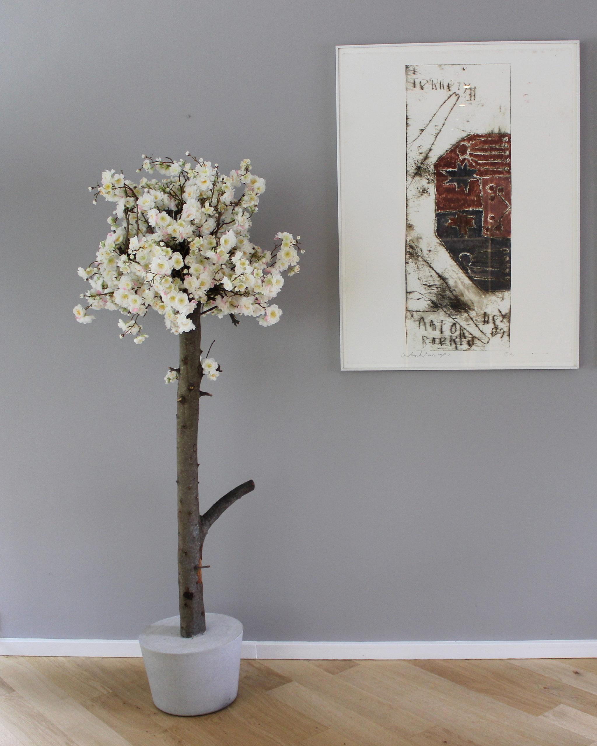 Wonderbaarlijk Kunst bloesemboom   Handgemaakt voor in jouw interieur   SB-91