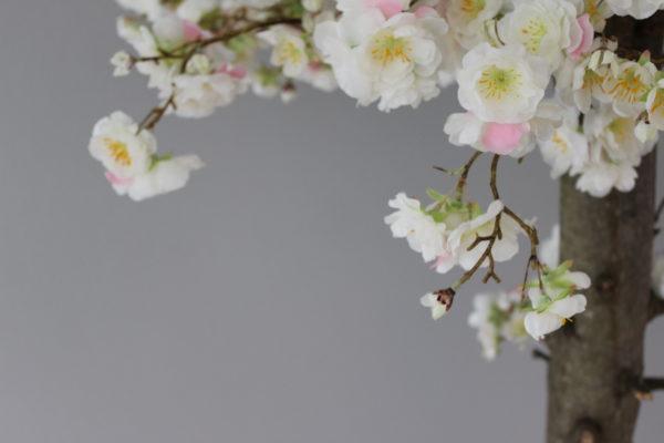 japanse kunst bloesemboom thuis binnen boom grote boom interieurboom kunstboom homemade stijlvolle neppe witte bloesem duurzame boom onderhoudsvrij
