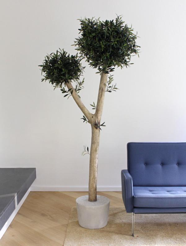 grote kunst olijfboom voor binnen neppe olijfboom kunstboom in huis duurzame kunstbomen kopen kunst olijfboompje boommade
