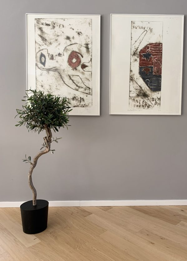 kunstboom kunst olijfboom kunst bomen kunstbomen interieurboom boom voor binnen olijfboom in huis olijfboom op kantoor