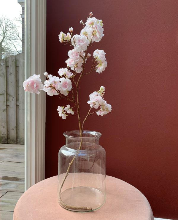 roze bloesemtak kunst neppe bloesemtakken
