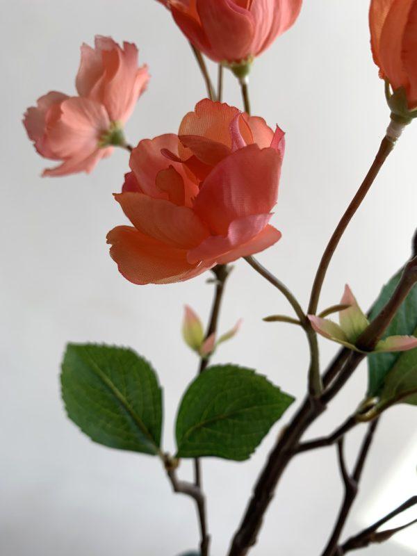 bloesemtak kopen bloesemtakken kopen kunst bloesem kunst bloesemtakken siertakken interieurtakken roze bloesemtak oranje bloesemtak kunsttakken in huis kopen