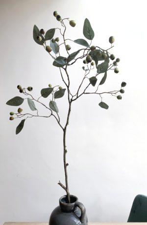 Kunst eucalyptus takken