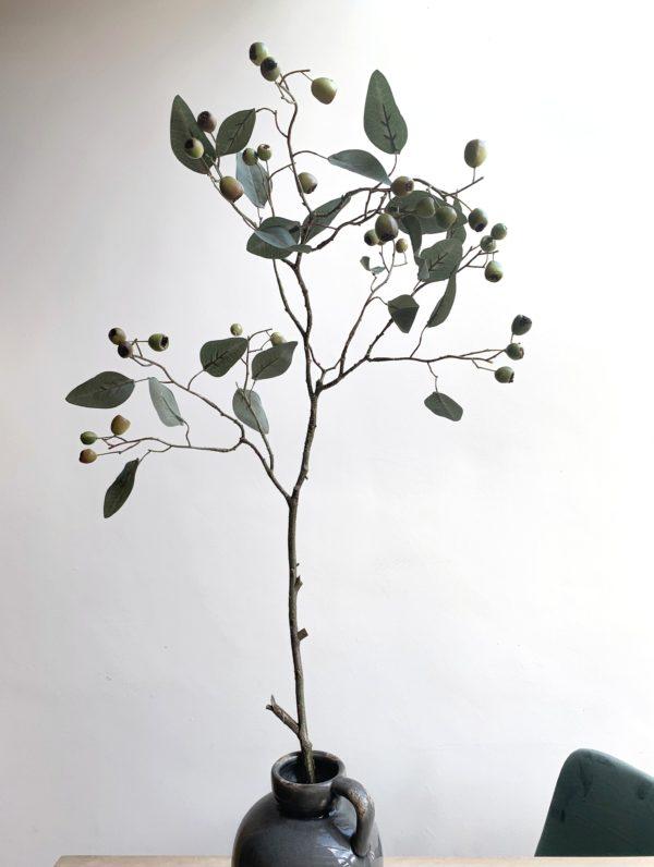 Kunst eucalyptus takken kopen siertakken met besjes