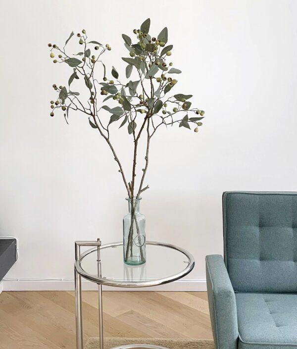 Kunst eucalyptus takken eucalyptus tak kunsttakken met besjes herfsttakken