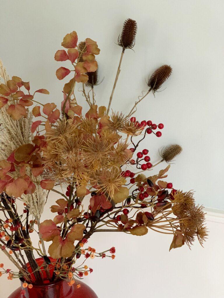 droog bloemen boeket kunstbloemen