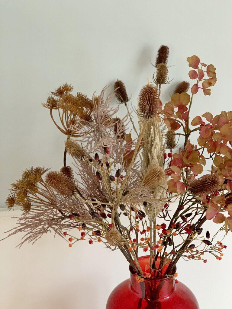 kunst droogbloemen boeket droog bloemen kunstbloemen
