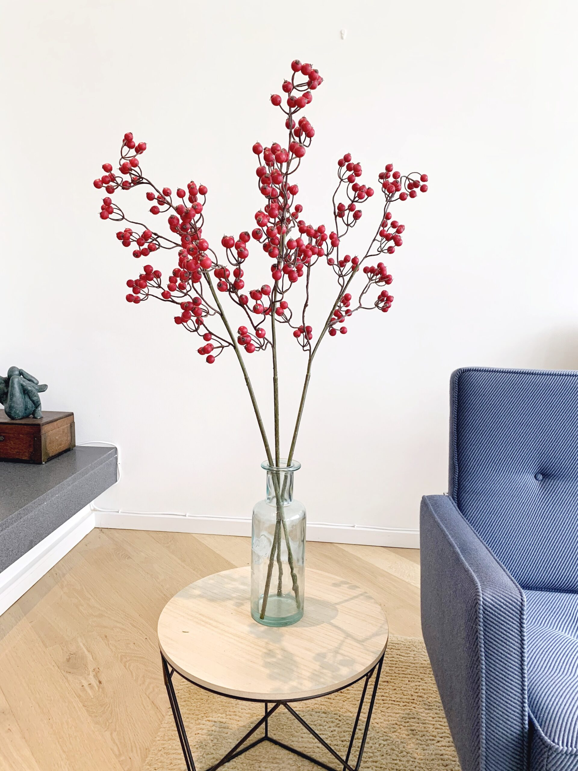 siertak met rode besjes boommade